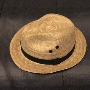 Hat made of straw, for children